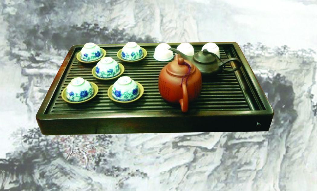 K201 - Khay trà lòng máng